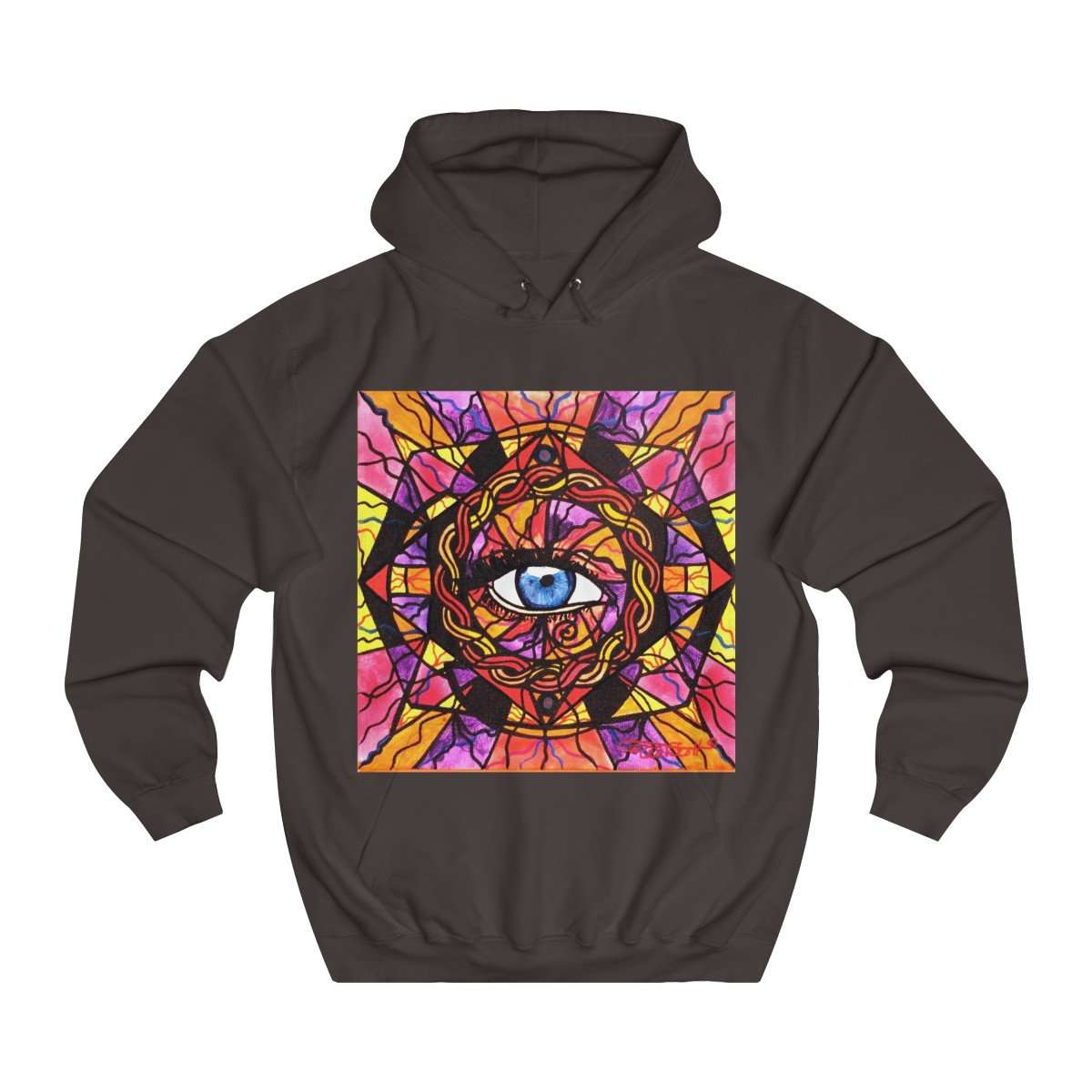 Confident Self Expression - Unisex College Hoodie