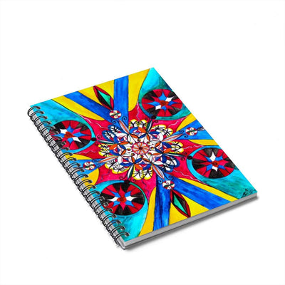 Origin Of The Soul - Spiral Notebook