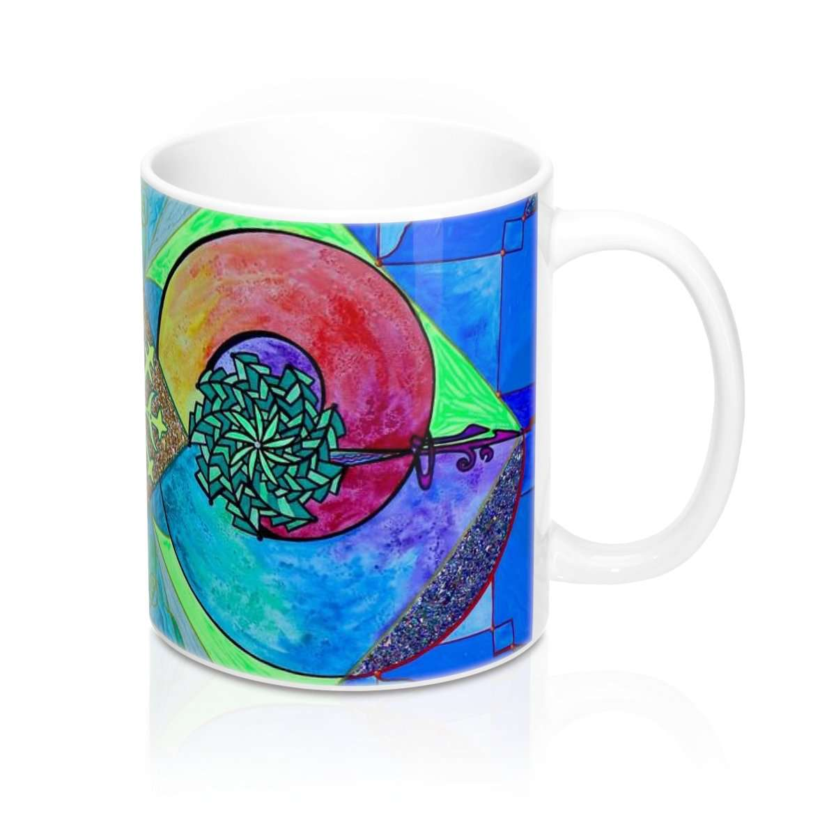 Expansion Pleiadian Lightwork Model - Mug 11oz