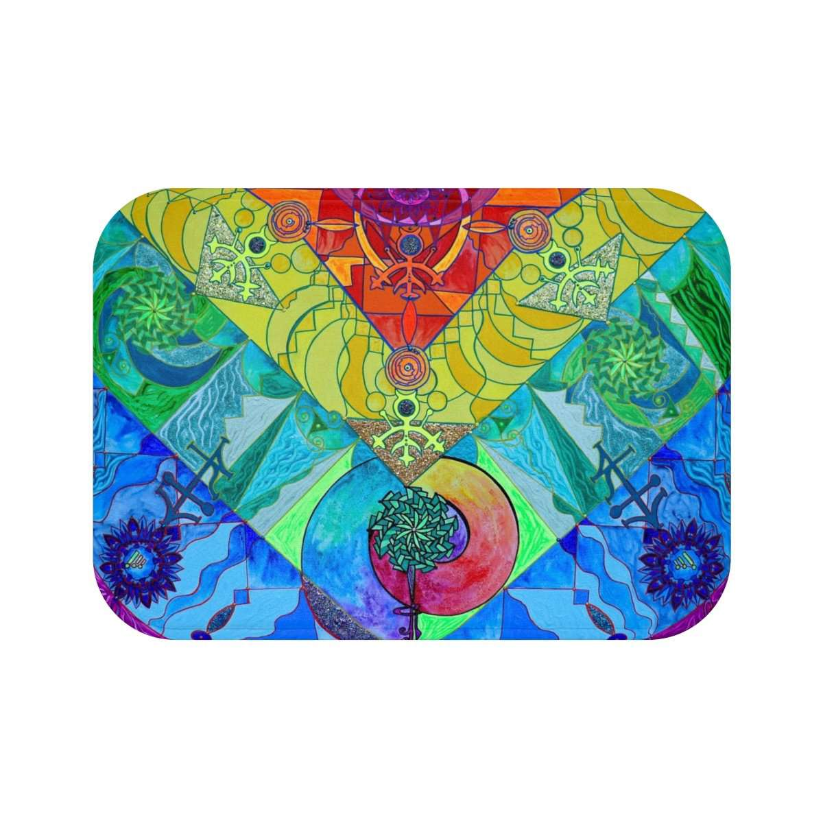 Expansion Pleiadian Lightwork Model - Bath Mat