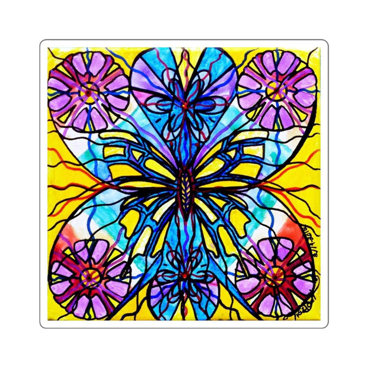 Butterfly - Square Stickers