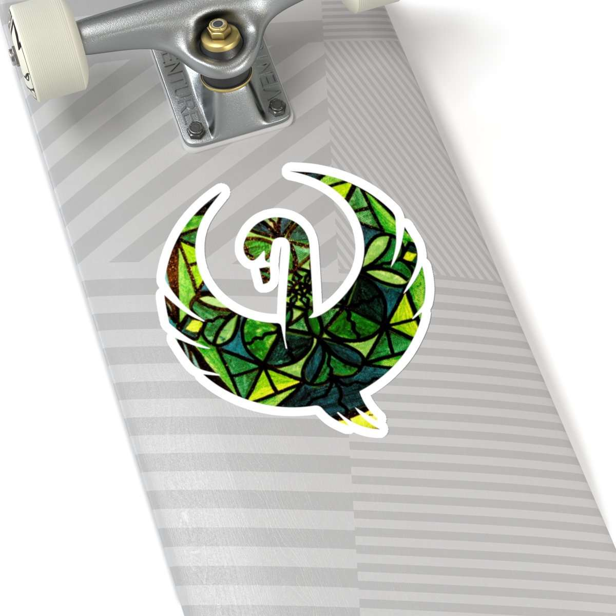 Green - Swan Stickers