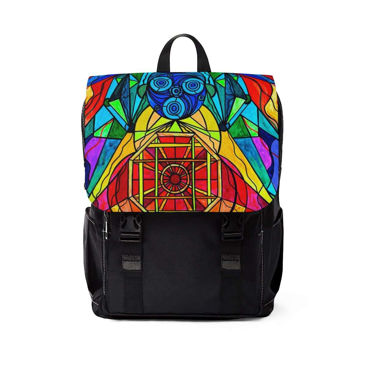 Arcturian Conjunction Grid - Unisex Casual Shoulder Backpack