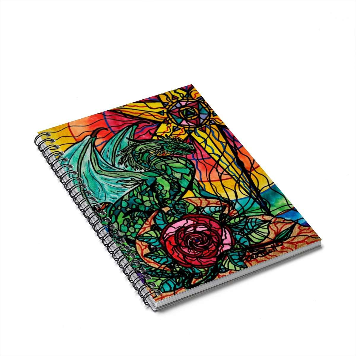 Dragon - Spiral Notebook