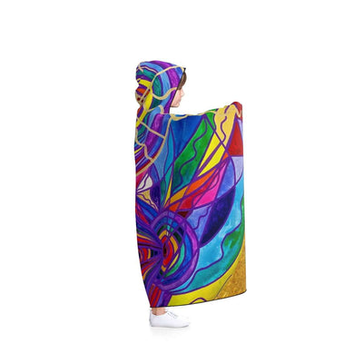 Raise Your Vibration - Hooded Blanket