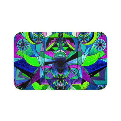Arcturian Astral Travel Grid - Bath Mat