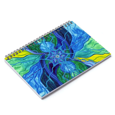 Tranquility - Spiral Notebook