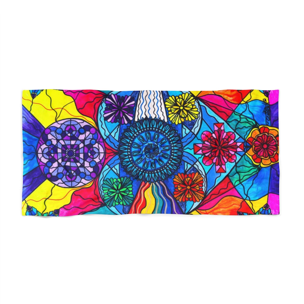 Speak From The Heart - Beach Towel