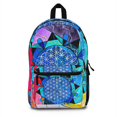 The Flower of Life - AOP Backpack