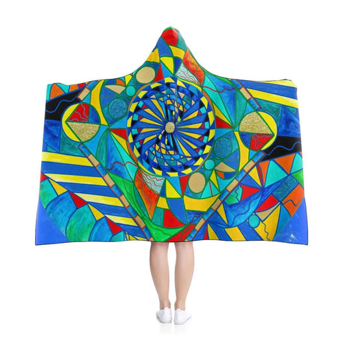 Ascended Reunion - Hooded Blanket