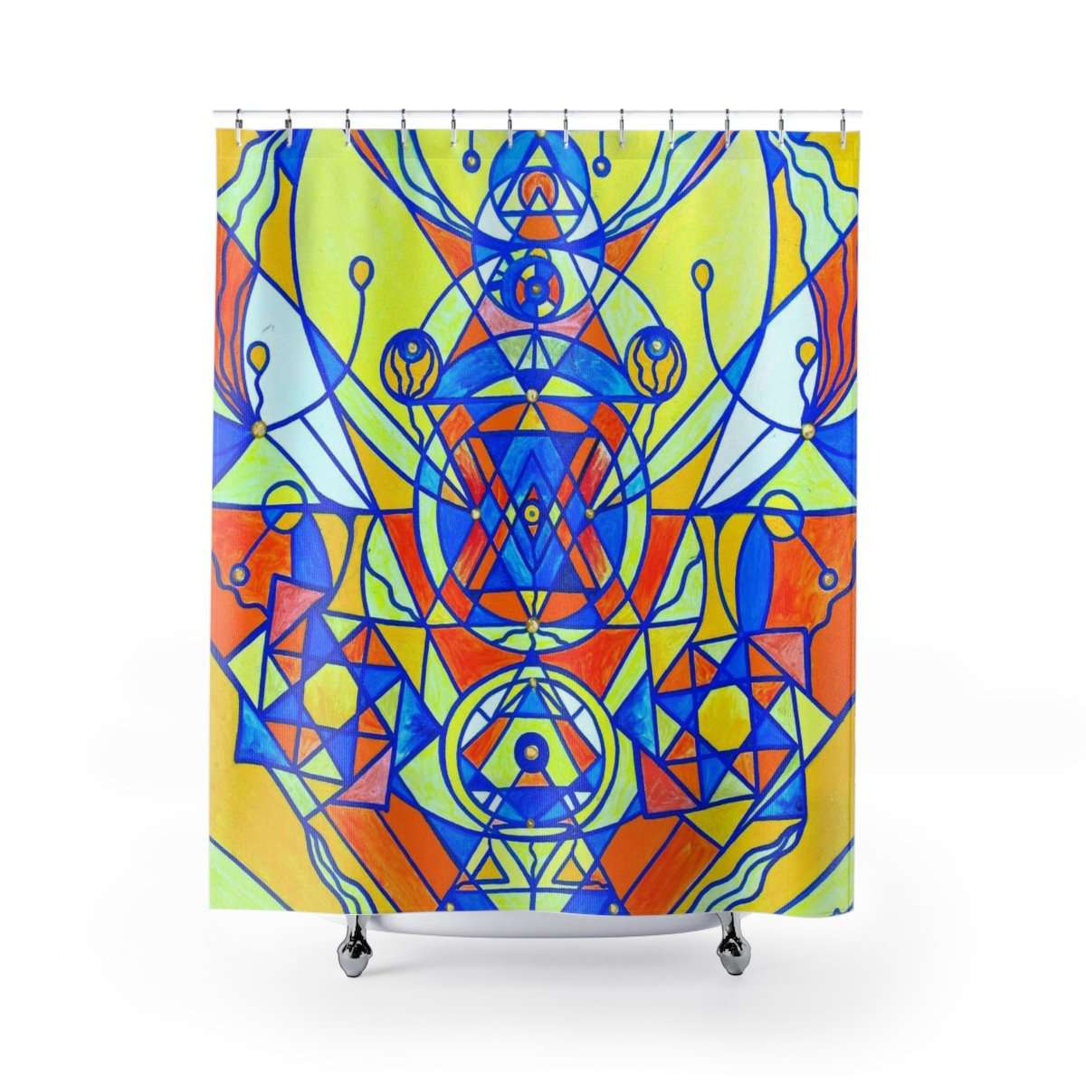 Happiness Pleiadian Lightwork Model - Shower Curtains