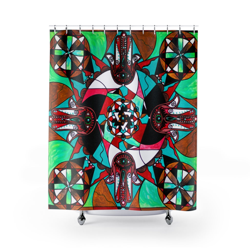 Aura Shield - Shower Curtains