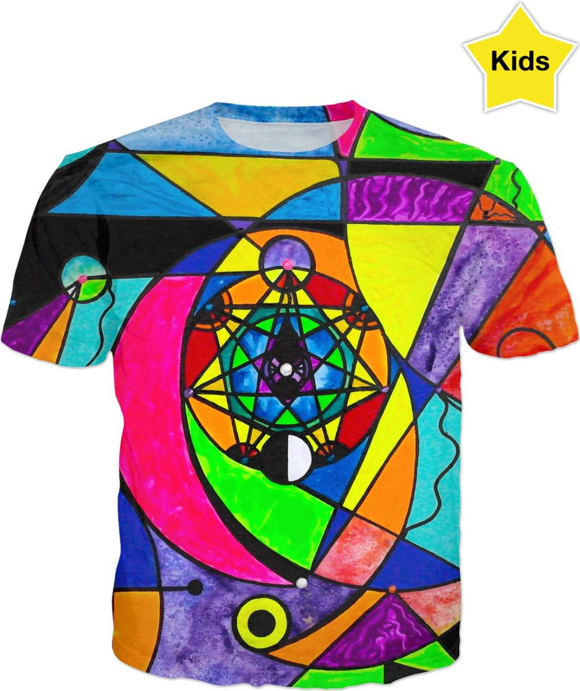 The Power Lattice - Kids T-Shirt