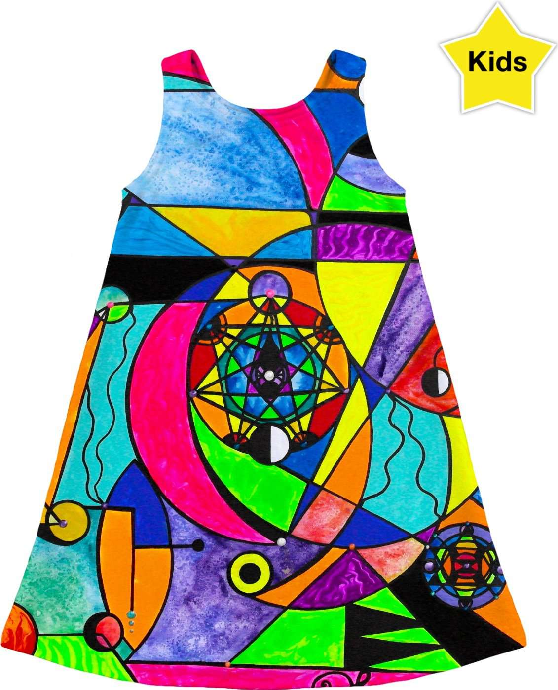 The Power Lattice - Kids Dress