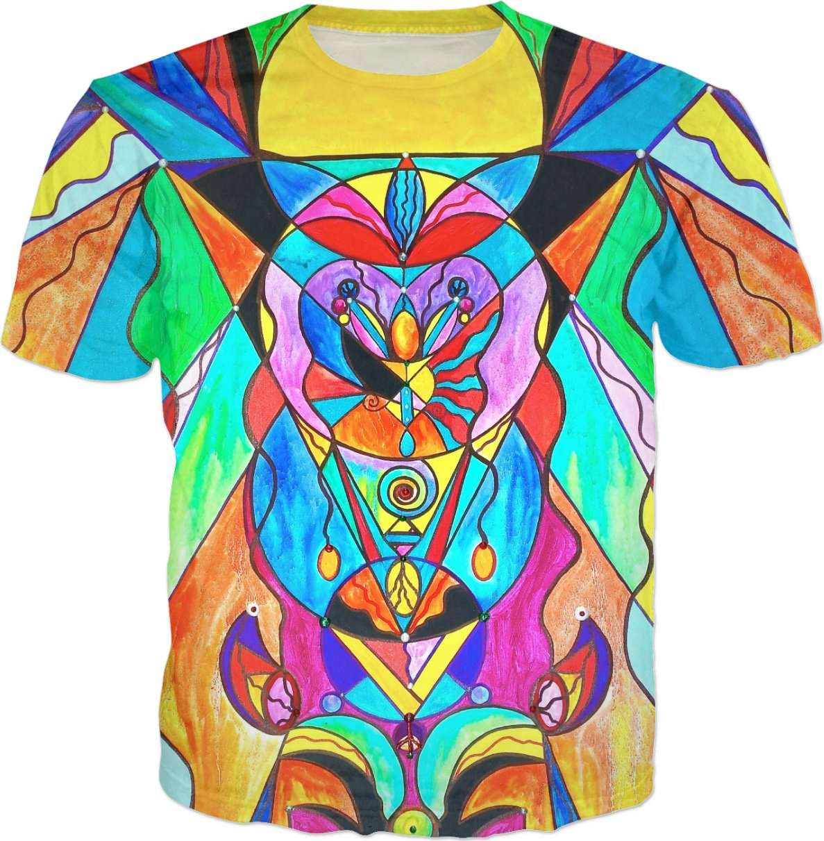 Arcturian Metamorphosis Grid - Men's T-Shirt
