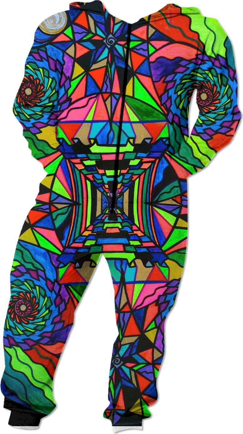 Out Of Body Grid - Onesie