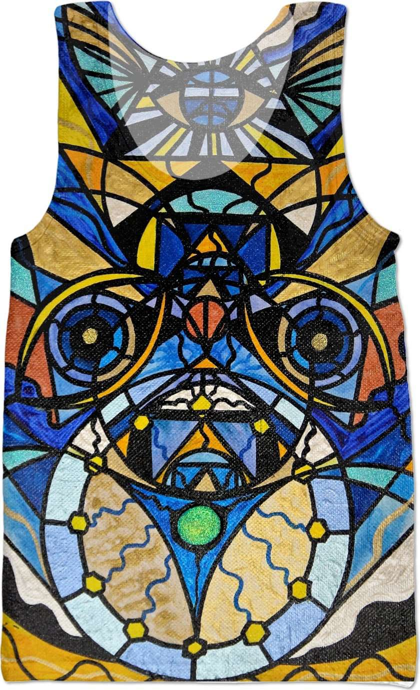 Sirian Solar Invocation Seal - Tank Top