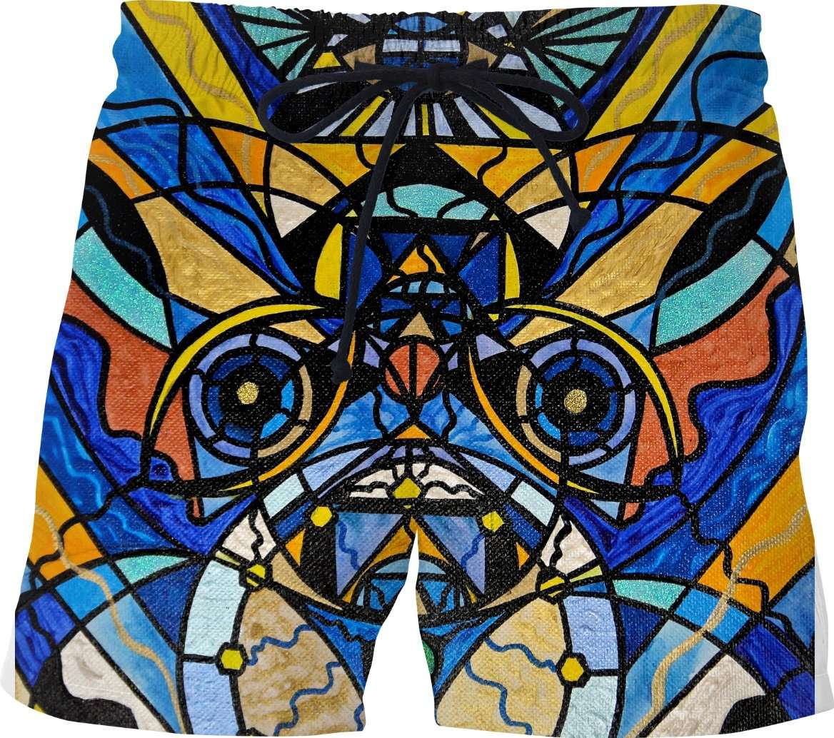 Sirian Solar Invocation Seal - Swim Shorts