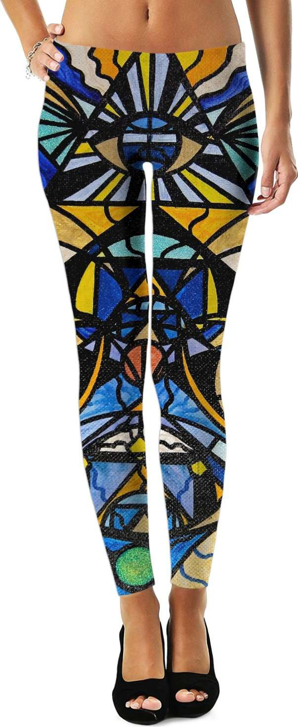 Sirian Solar Invocation Seal - Leggings