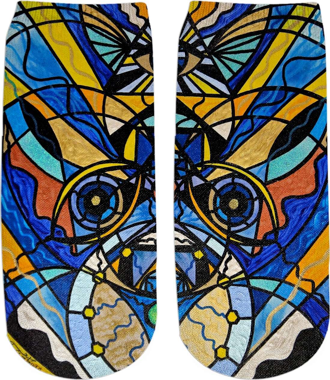 Sirian Solar Invocation Seal - Ankle Socks