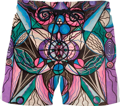 Arcturian Healing Lattice - Swim Shorts
