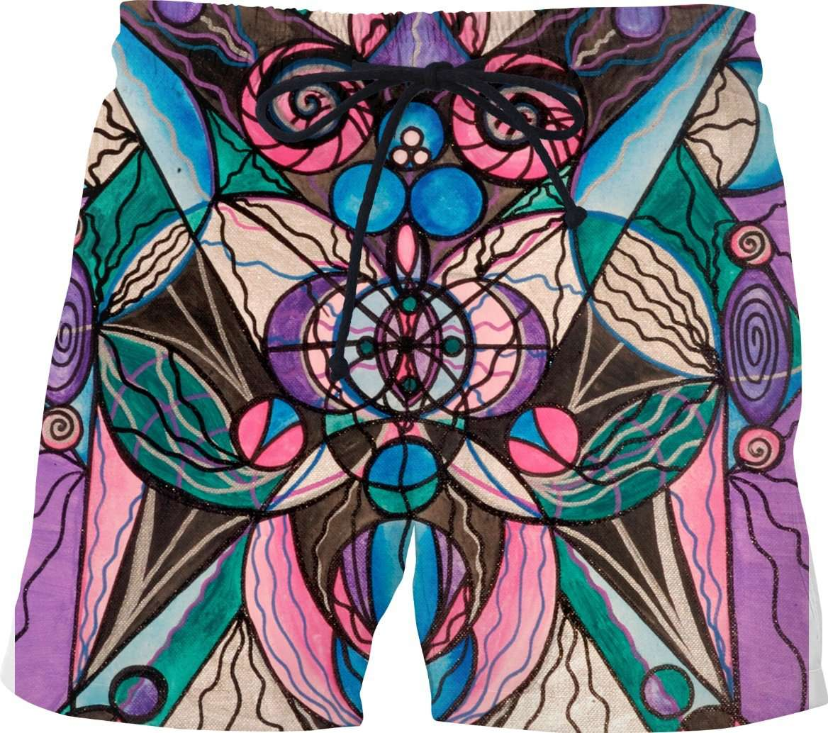 Arturian Healing Lattice-Swim Shorts