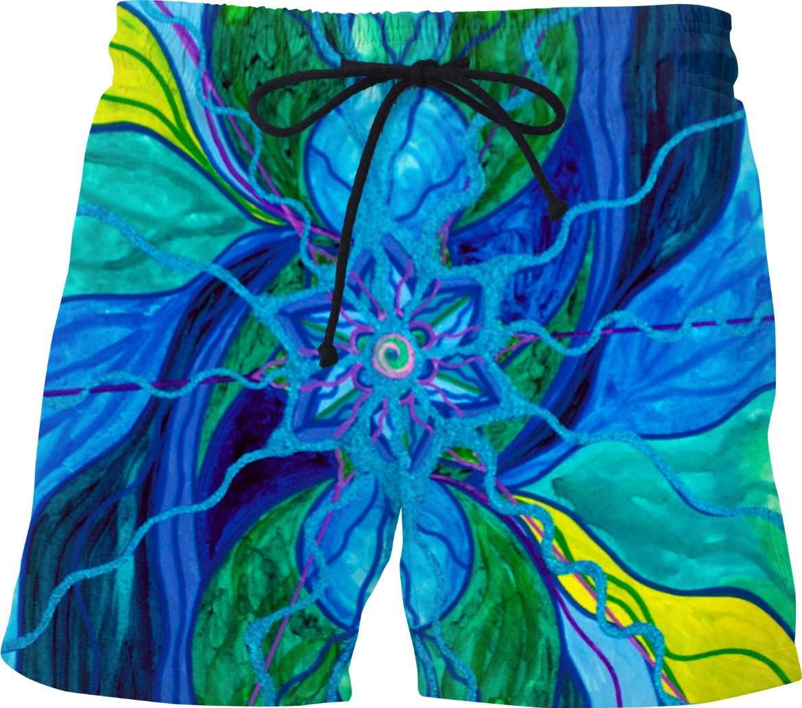 Tranquility-Swim Shorts