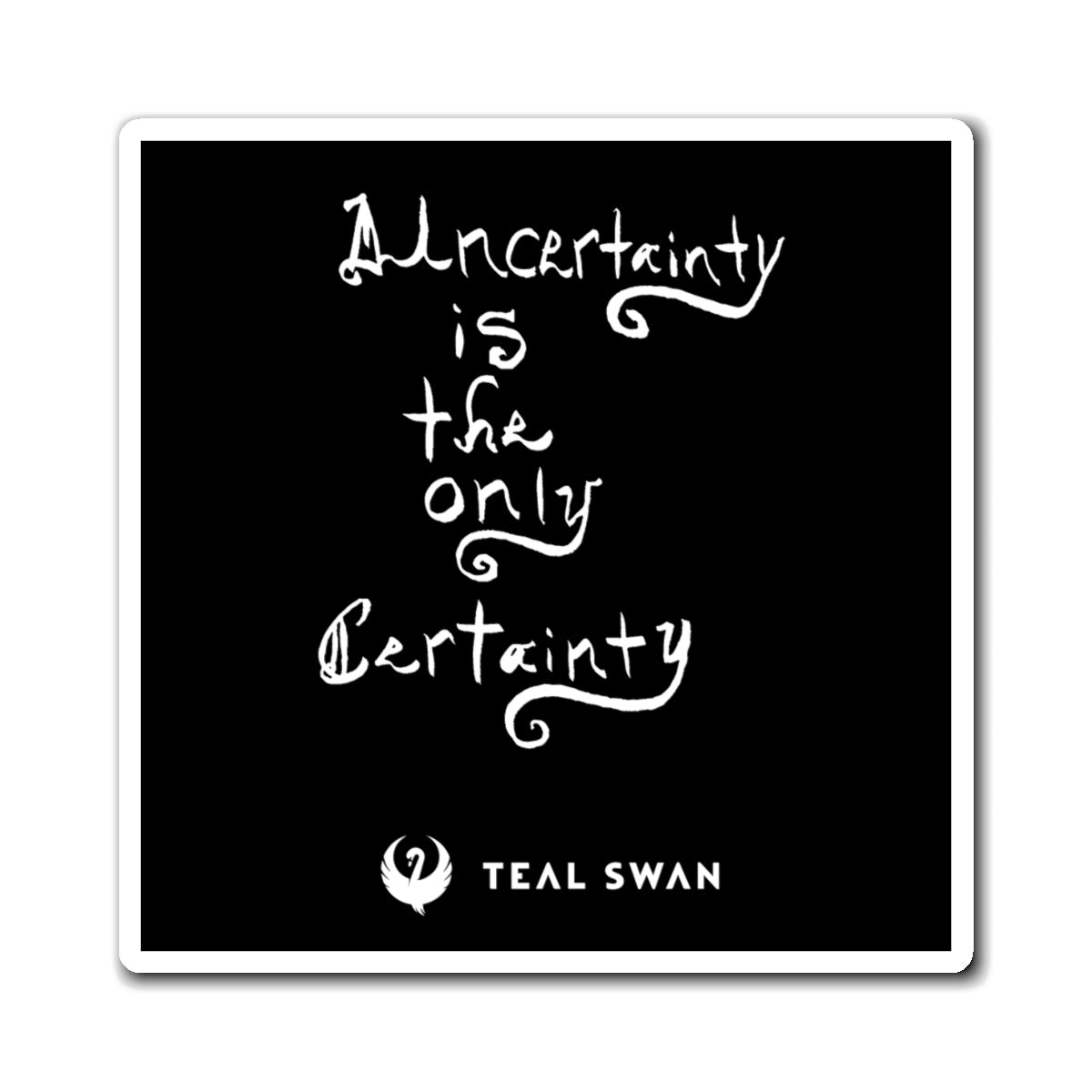 Uncertainty Quote - Magnets