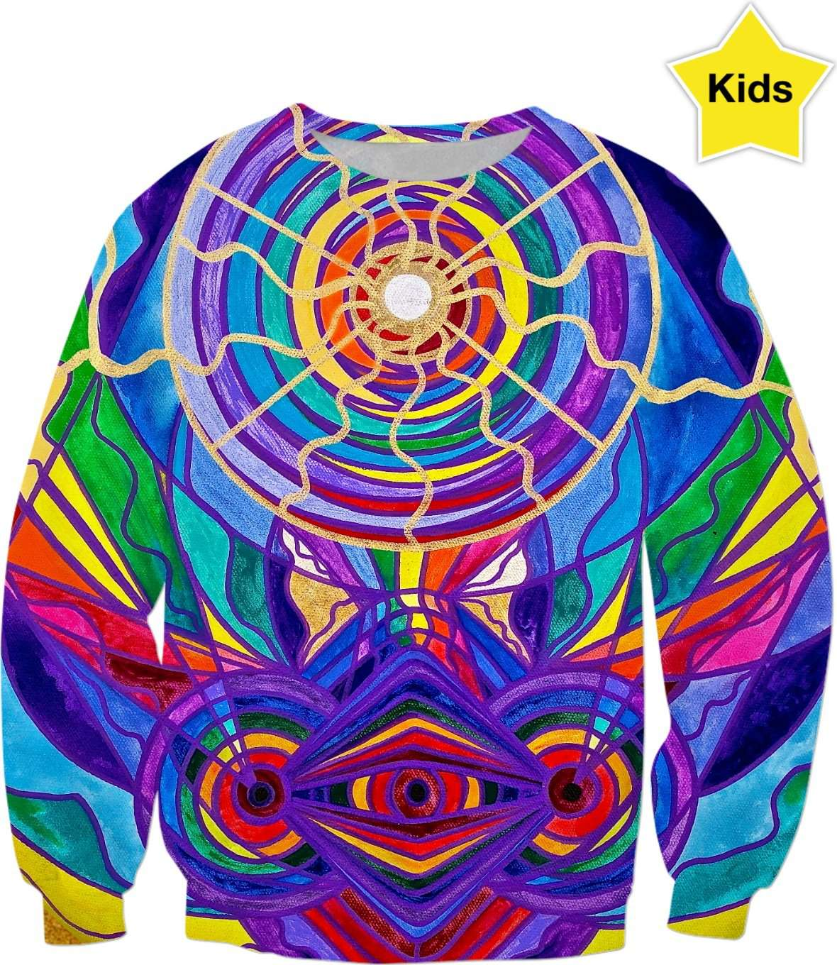 Raise Your Vibration - Kids Sweatshirt
