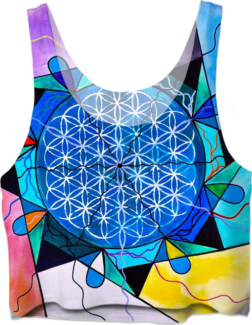 Flower of Life - Crop Top