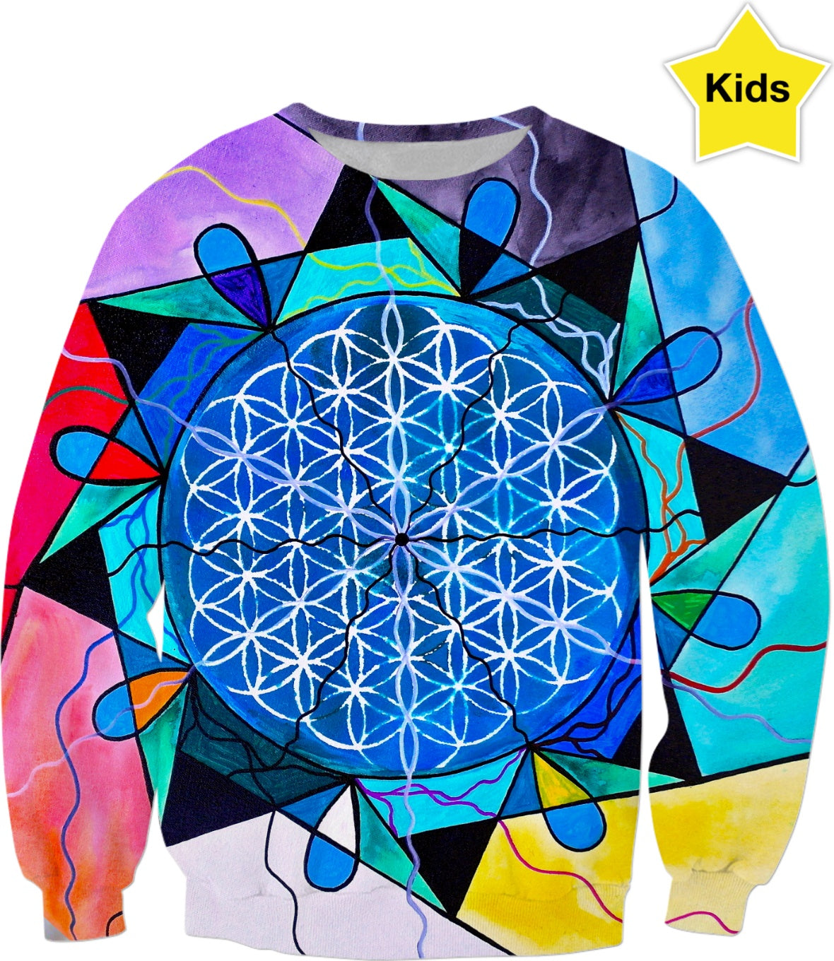 Flower of Life - Kids Sweatshirt