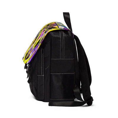 Arcturian Personal Truth Grid - Unisex Casual Shoulder Backpack