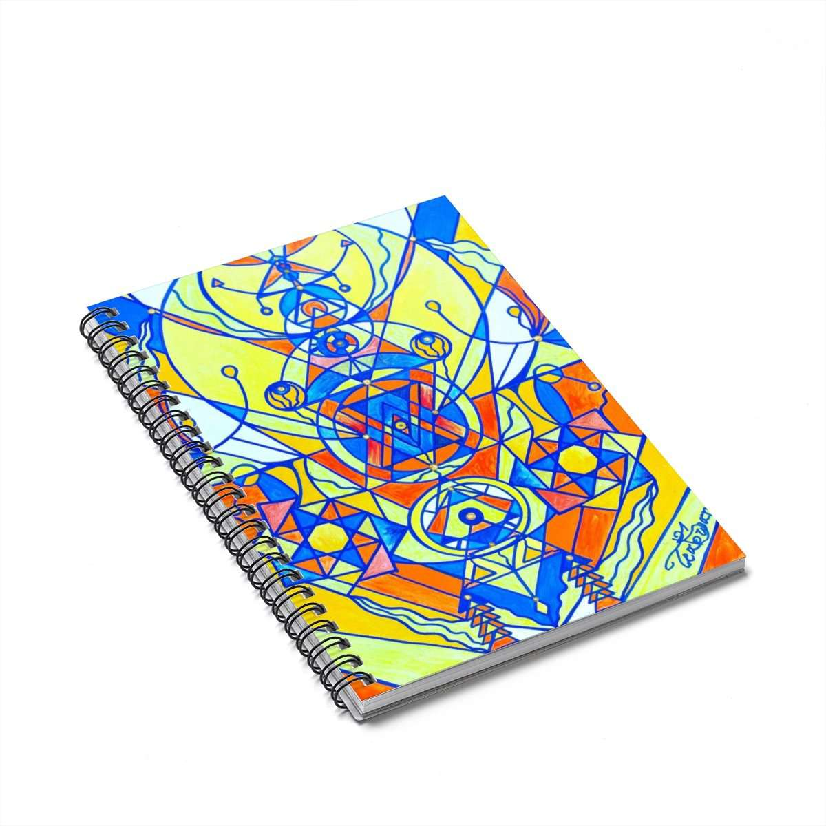 Happiness Pleiadian Lightwork Model - Spiral Notebook