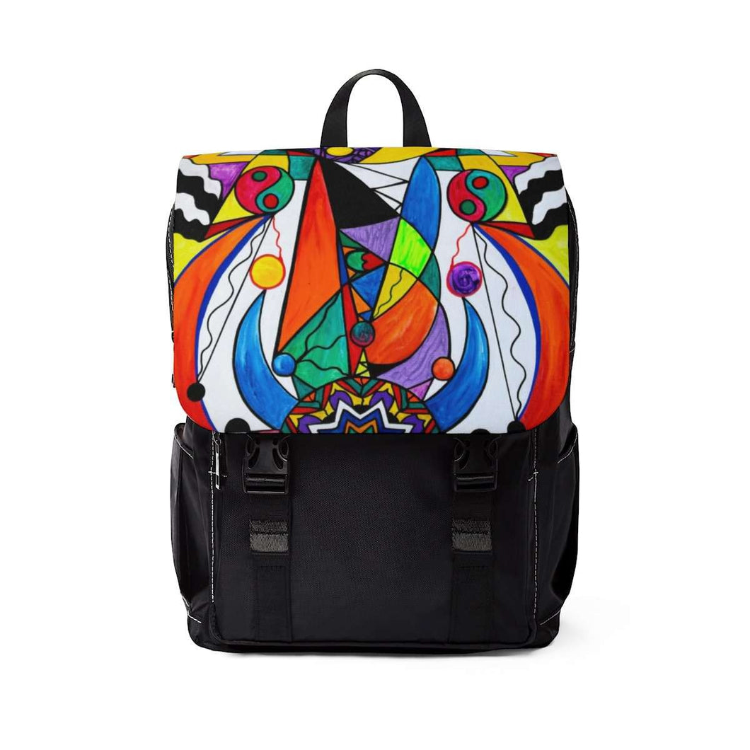 Compatibility - Unisex Casual Shoulder Backpack