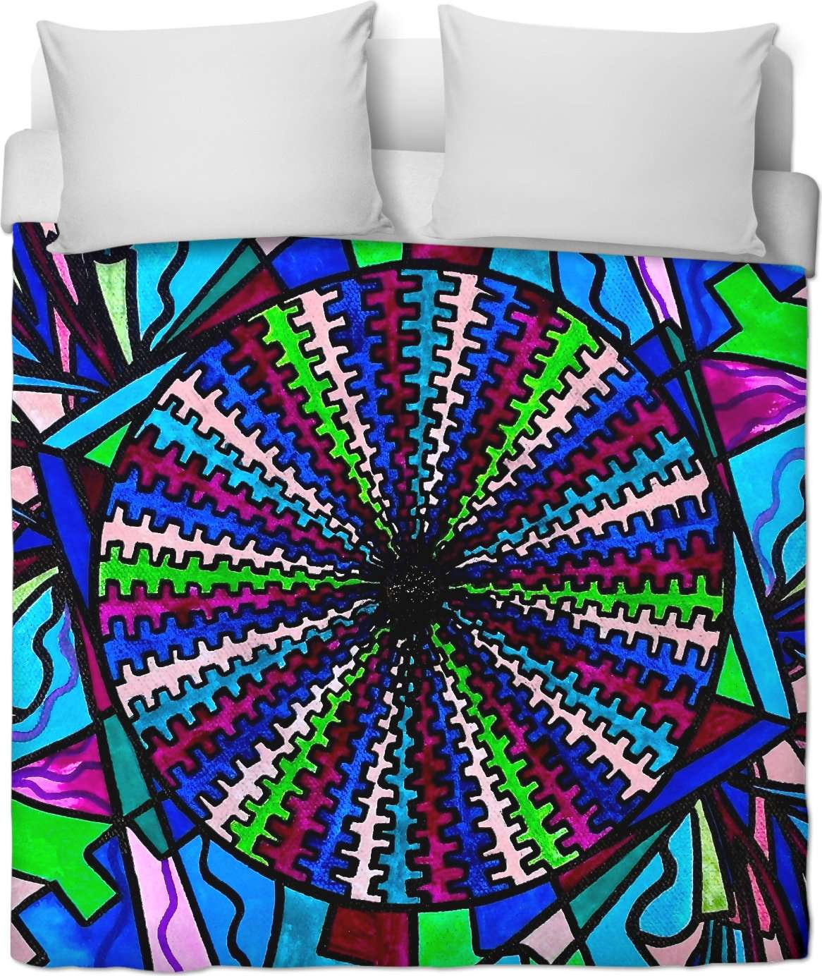 Pleiadian Integration Lightwork Model - Duvet Cover