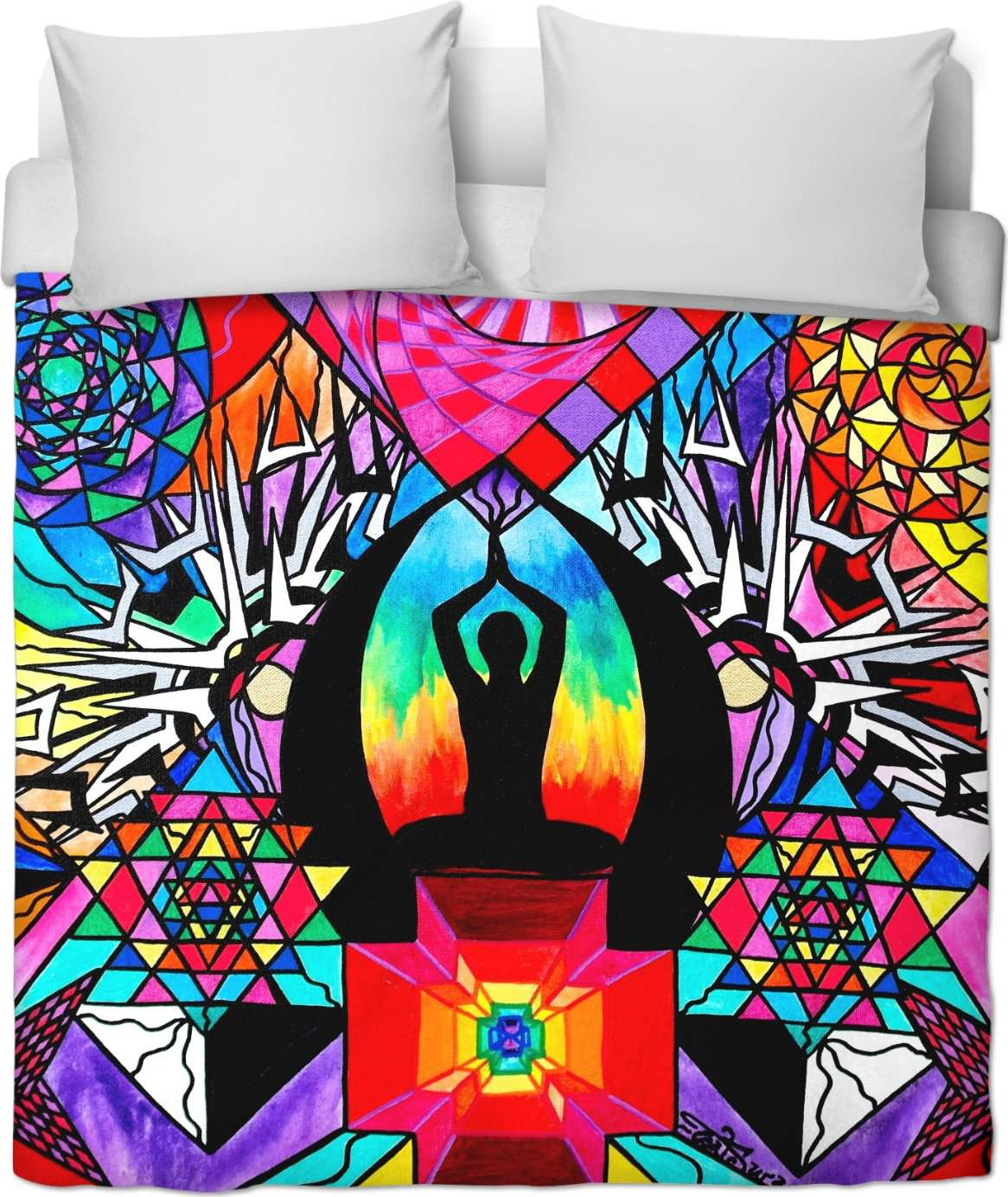 Meditation Aid - Duvet Cover