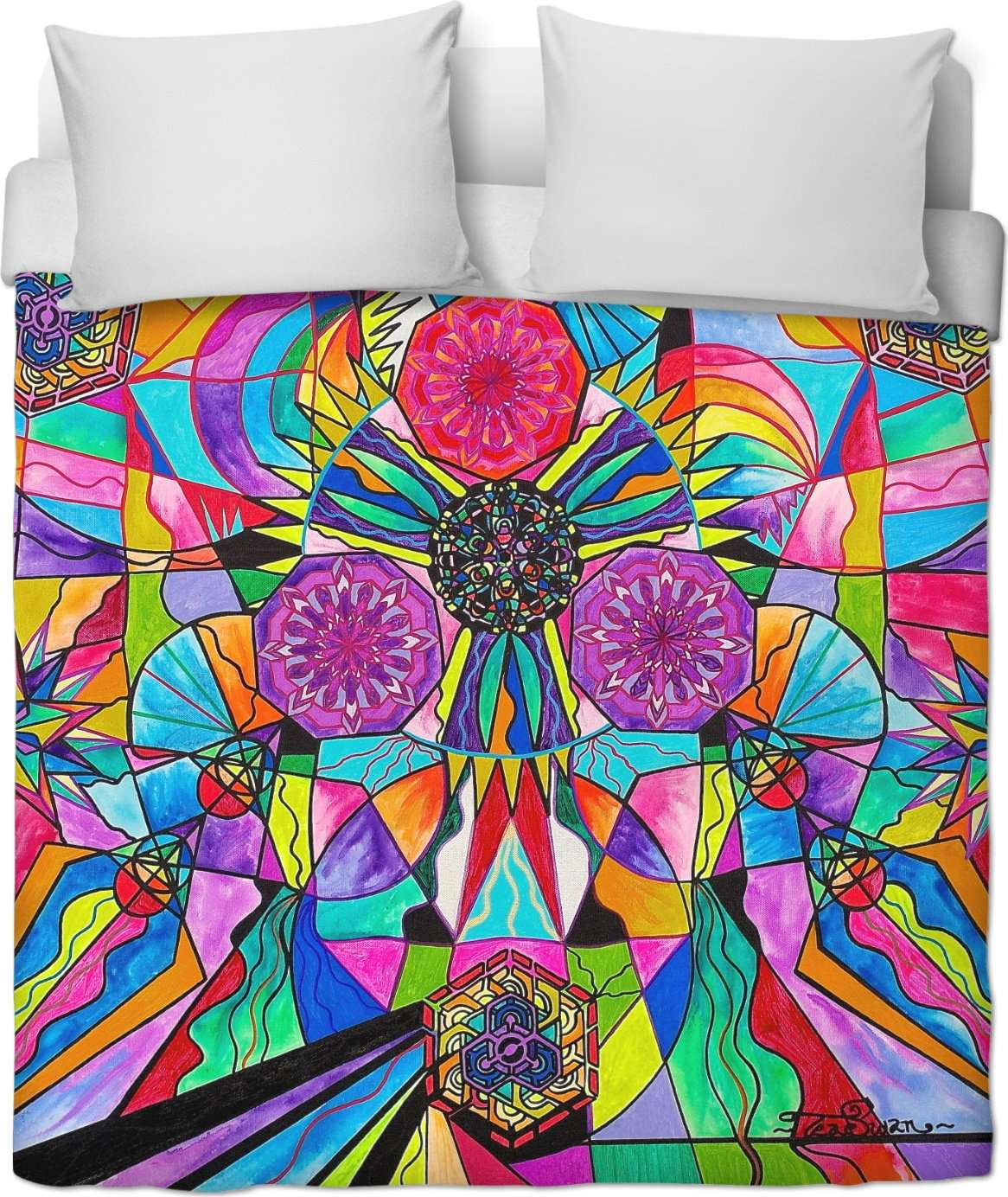 Positive Intention - Duvet Cover