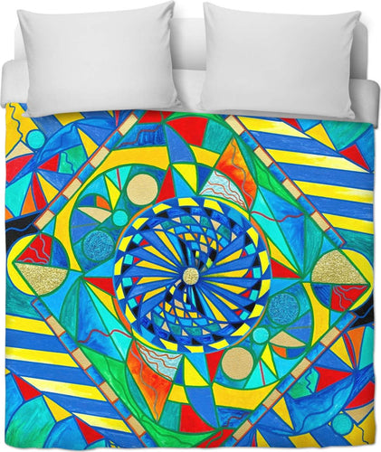Ascended Reunion - Duvet Cover
