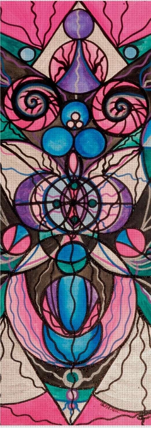 Arcturian Healing Lattice - Yoga Mat