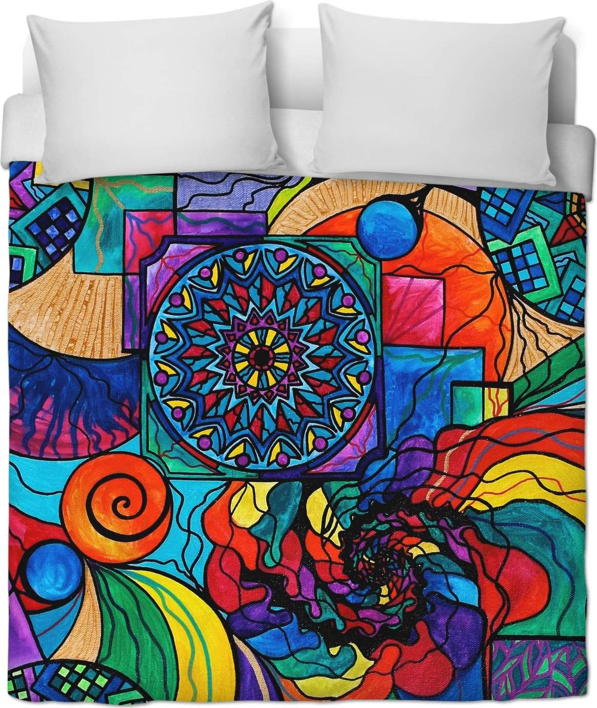 Self Exploration - Duvet Cover
