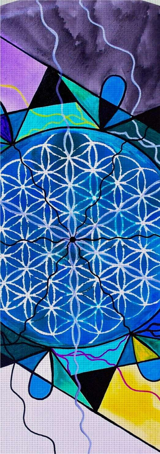 The Flower of Life - Yoga Mat