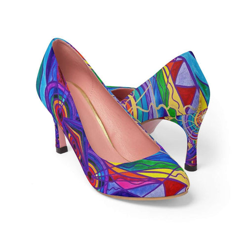Raise Your Vibration - Women's High Heels