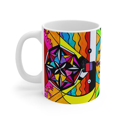 Manifestation Lightwork Model - Mug 11oz