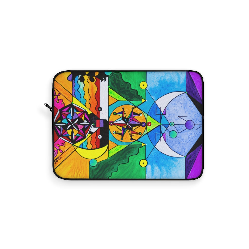 Manifestation Lightwork Model - Laptop Sleeve