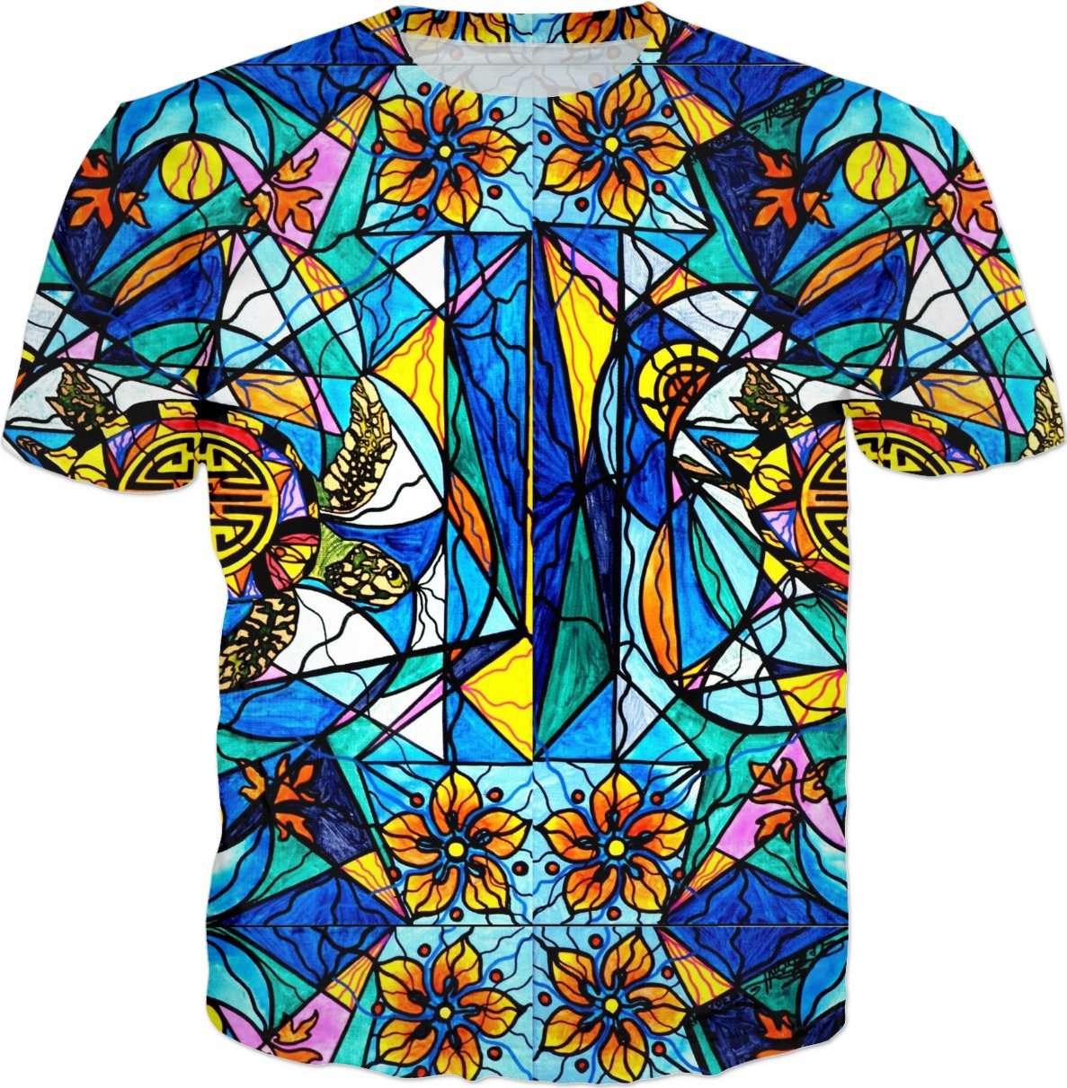 Tiled Honu - Men's T-Shirt
