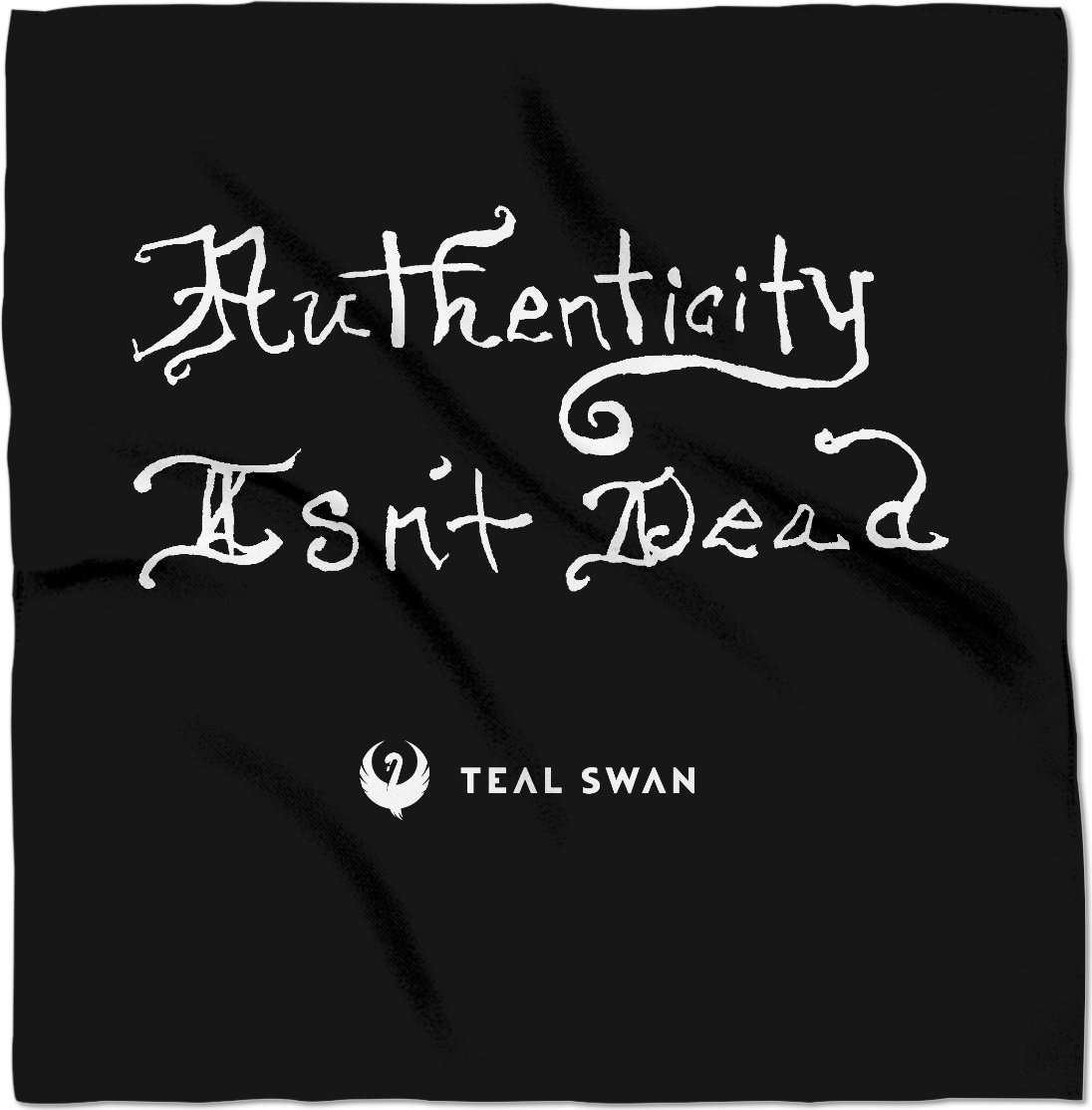 Authenticity Isn't Dead Quote - Bandana