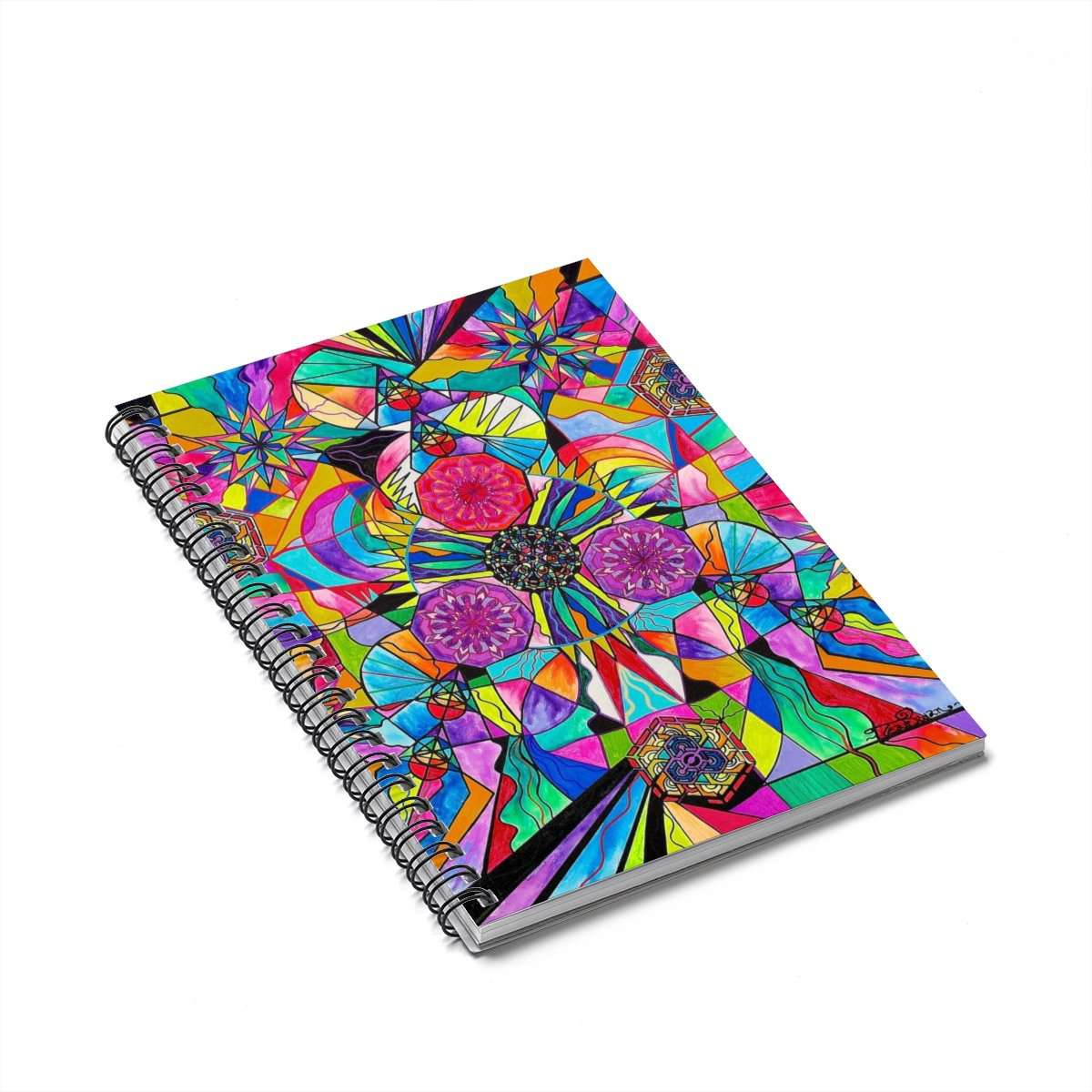 Positive Intention - Spiral Notebook