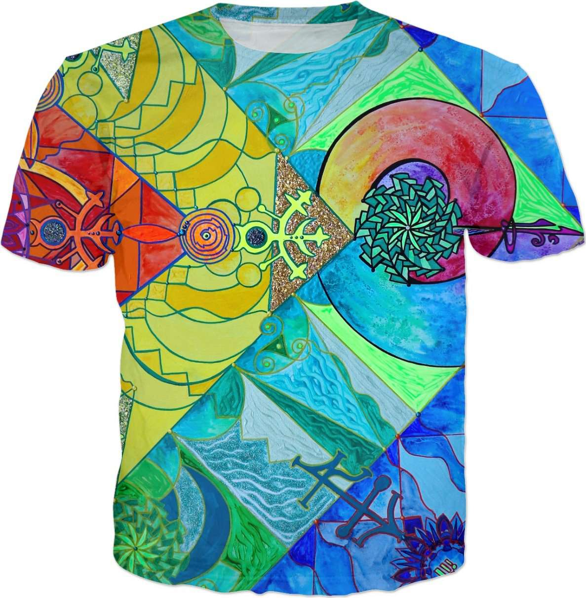Expansion Pleiadian Lightwork Model - Men's T-Shirt