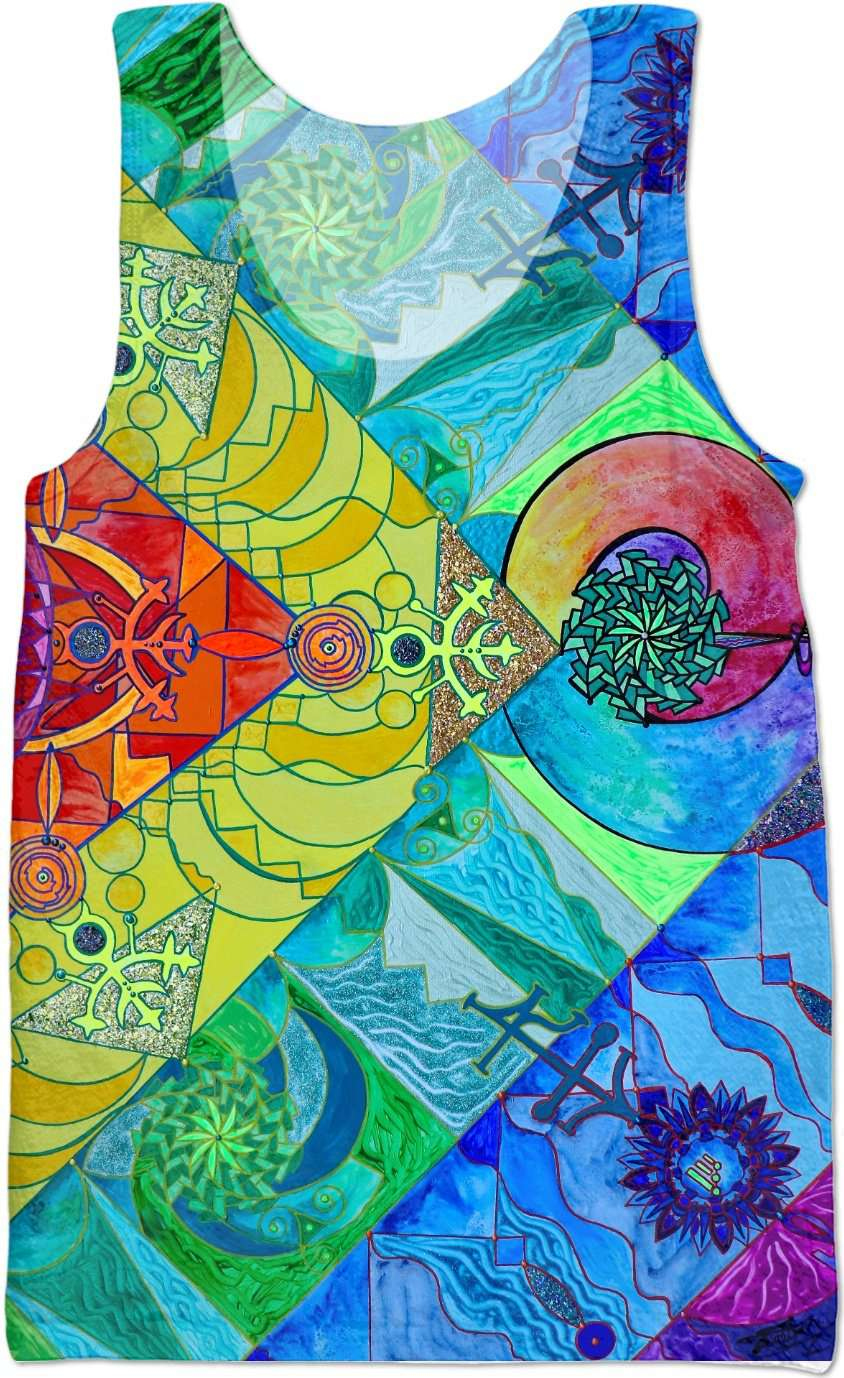 Expansion Pleiadian Lightwork Model - Tank Top