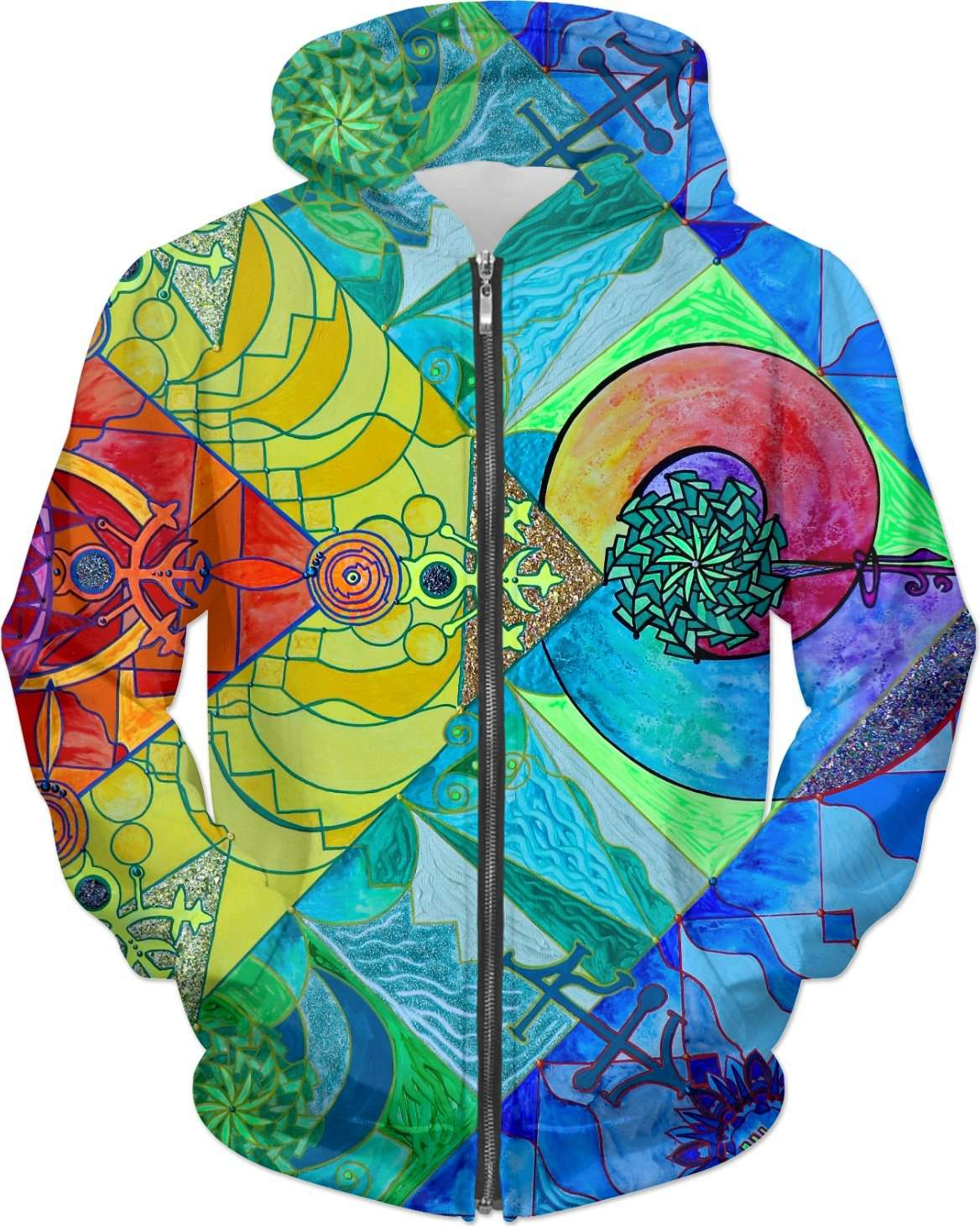 Expansion Pleiadian Lightwork Model - Hoodie